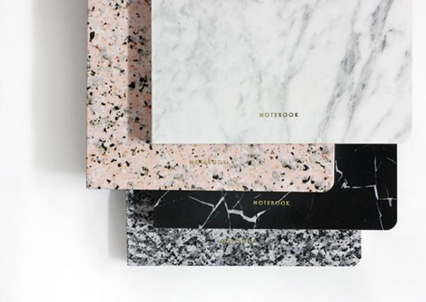 Stone Marble Notebooks | Dear Maison